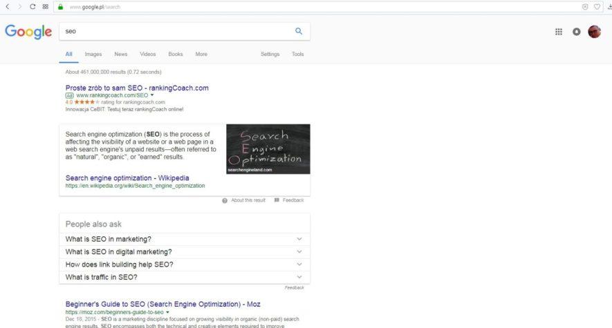 Jak dobrać słowa kluczowe przez people also ask nowe narzędzie Google