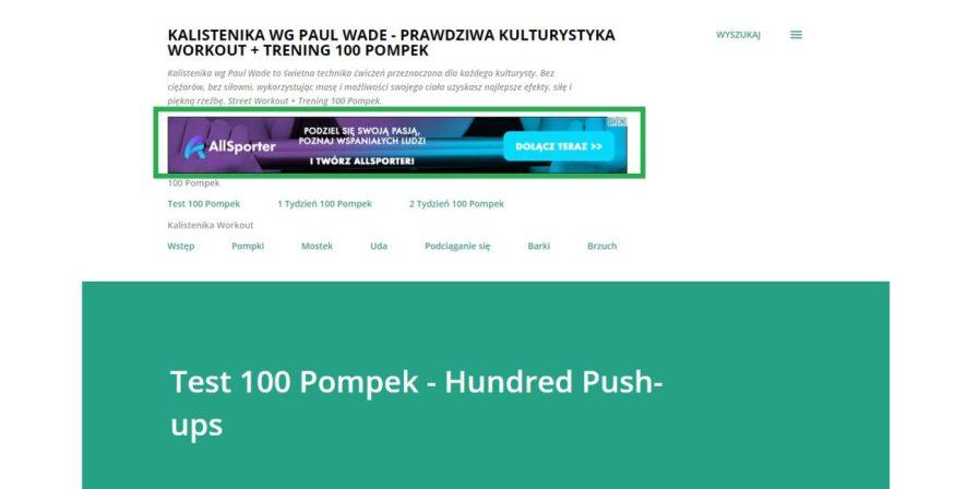 Reklama Adwords na stronach i blogach dołączonych do programu google Adsense