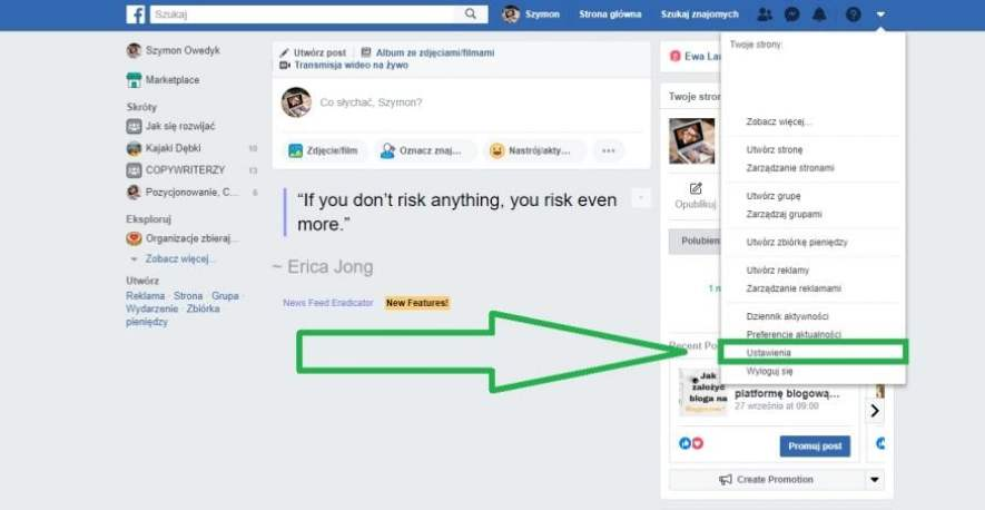 usunięcie konta na facebooku 1