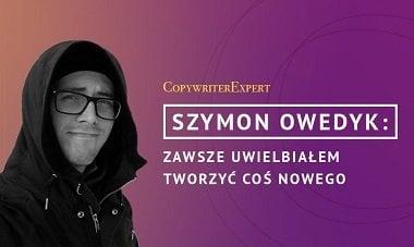 autor bloga jaksierozwijac szymon owedyk