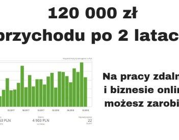 """120 000 zł przychodu po 2 latach firmy + """"Zostań Freelancerem..."""""""