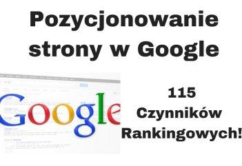 Jak pozycjonować stronę w Google za darmo? 50 wskazówek + Kurs SEO
