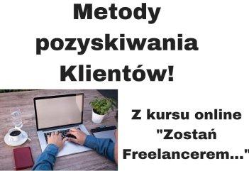 Jak pozyskać Klienta + lista serwisów dla Freelancerów