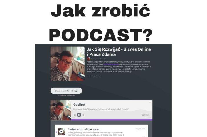 Co to jest Podcast? I jak zrobić Podcast szybko i za darmo?!