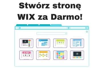 Jak stworzyć stronę internetową za darmo? WIX krok po kroku!