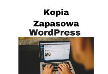 WordPress kopia zapasowa strony krok po kroku