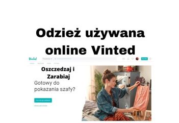 Odzież używana online VINTED - oszczędzaj zarabiaj kupując i sprzedając