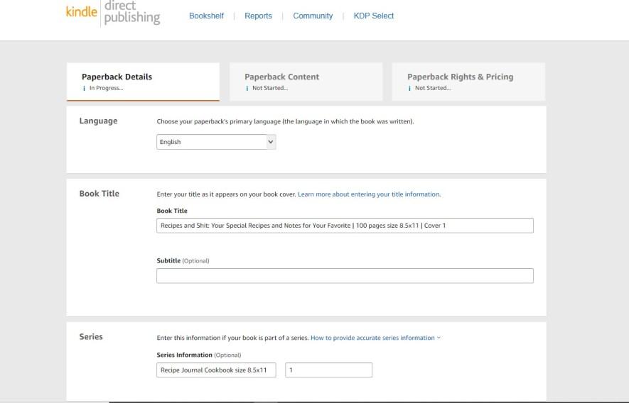 sprzedaż na Amazon KDP biznes online KURS online