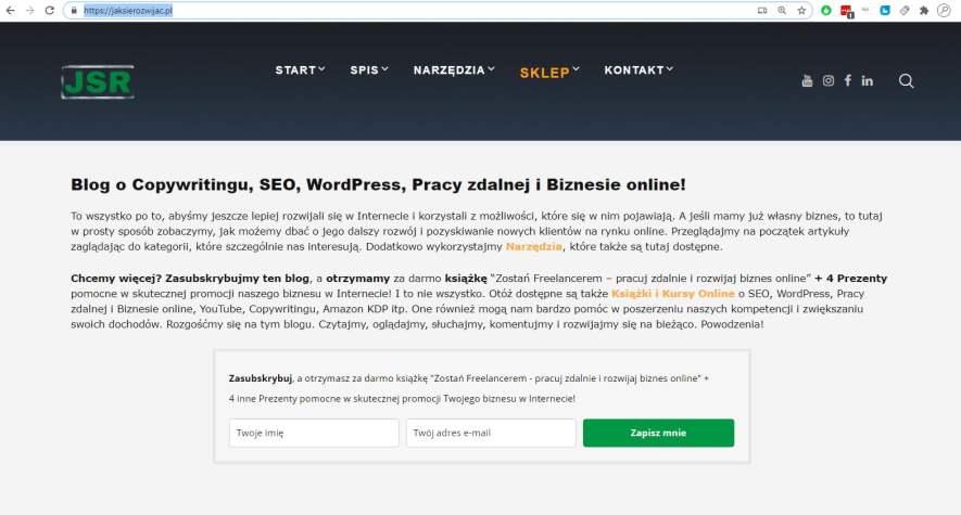Jak znaleźć i skopiować adres URL