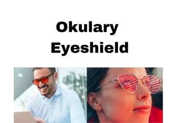 Okulary blokujące niebieskie światło Eyeshield dla zdrowia, pracy i nauki