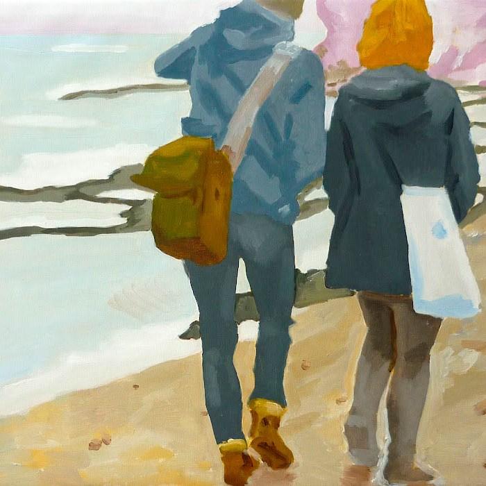 Paldiski 1, 85x75 cm, akryl na plátně / acrylic on canvas, 2010
