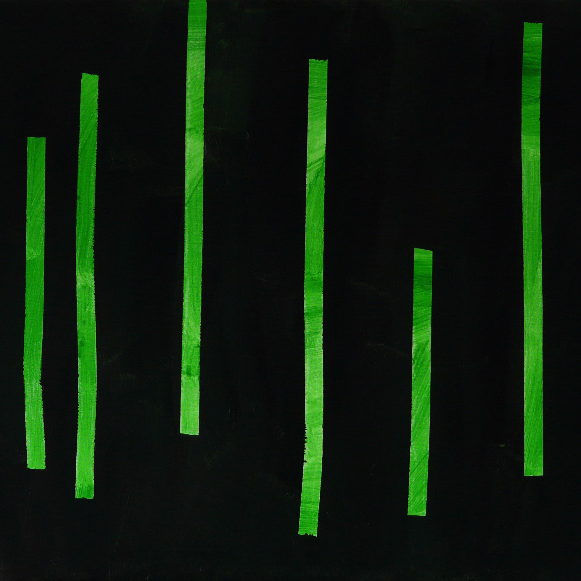 chaluhy 1 / algae 1, 105x80 cm, akryl na plátně / acrylic on canvas, 2015