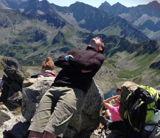 słoneczny szczyt Tatr