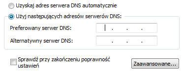 namebench wprowadzanie adresów DNS | Jak przyśpieszyć internet
