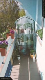 Balkon lewa strona | Ogród na balkonie