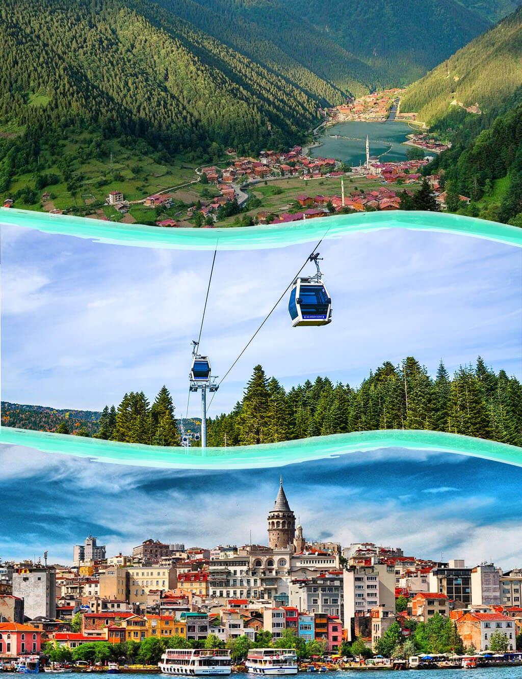 Gold package Istanbul- Trabzon - Bursa- Sapanca