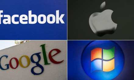 Facebook, Google, Microsoft y Apple: las cuatro patas del banco
