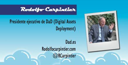 El perfil emprendedor de: Rodolfo Carpintier, dad.es
