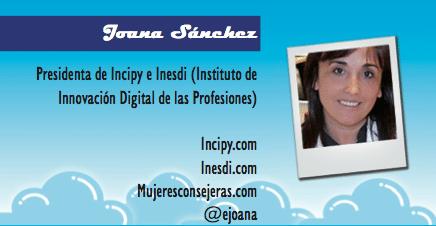 El perfil emprendedor de: Joana Sánchez, incipy.com