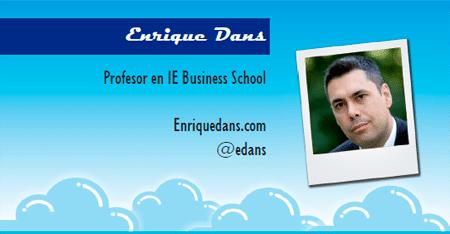 El perfil emprendedor de: Enrique Dans, enriquedans.com