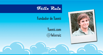 El perfil emprendedor de: Félix Ruiz, tuenti.es