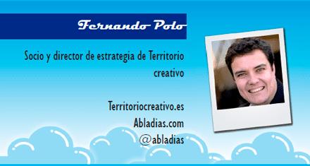 El perfil emprendedor de: Fernando Polo, territoriocreativo.es