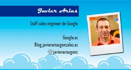 El perfil emprendedor de: Javier Arias, google.com