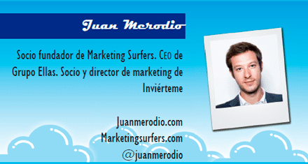 El perfil emprendedor de: Juan Merodio, juanmerodio.com