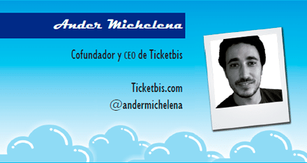 El perfil emprendedor de: Ander Michelena, ticketbis.com