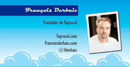 El perfil emprendedor de: Francois Derbaix, toprural.com
