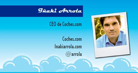 El perfil emprendedor de: Iñaki Arrola, coches.com