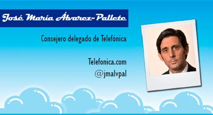 El perfil emprendedor de: José María Álvarez-Pallete, telefonica.es