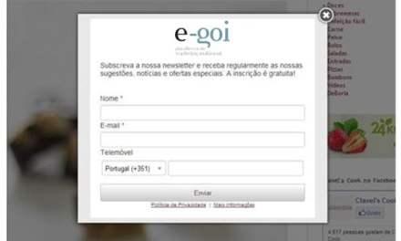 Captación de usuarios a través de formularios en la web