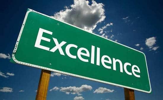 lograr la excelencia