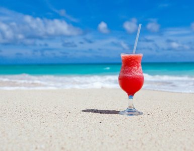 beach, beverage, caribbean