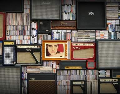 elvis presley, music, retro