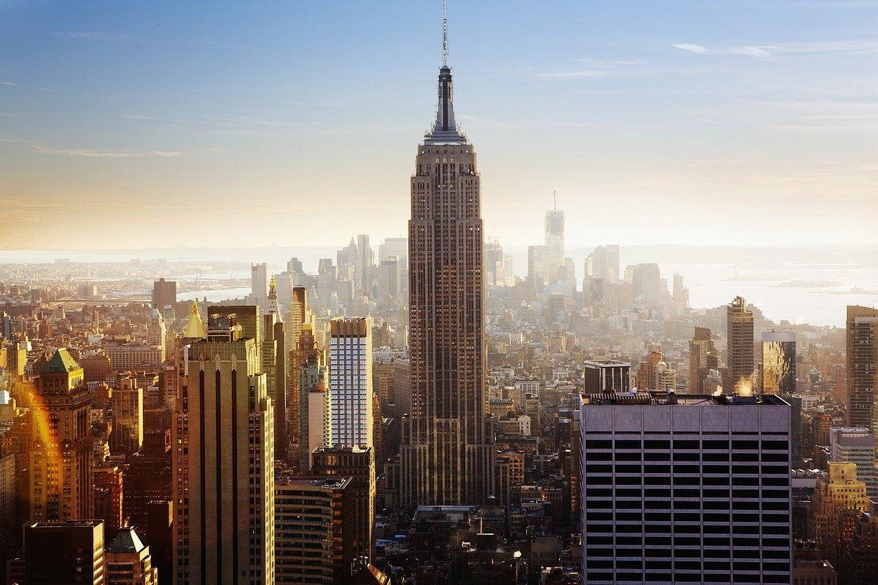 empire state building, usa, new york city
