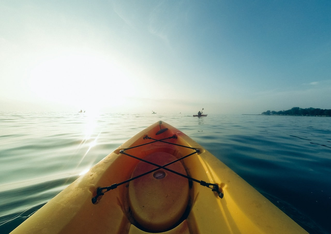 kayak, adventure, discover