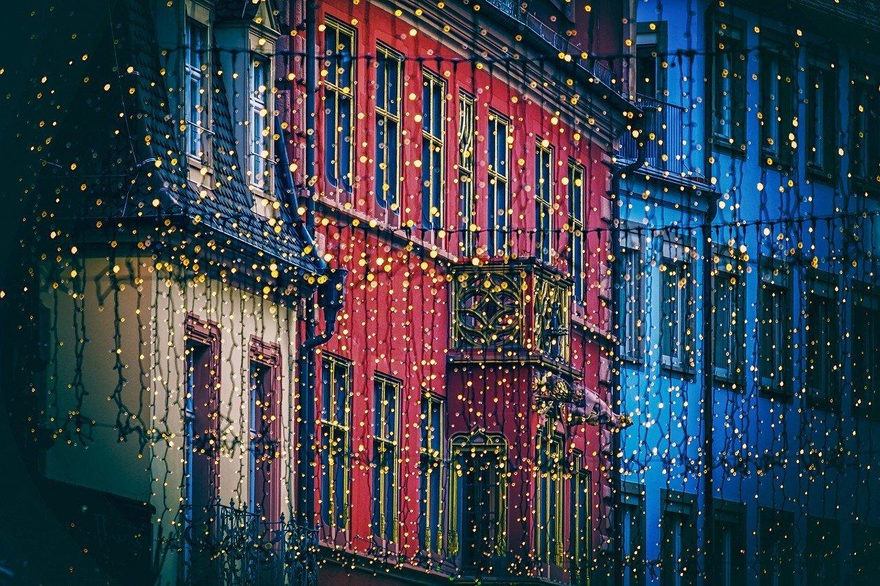 lichterkette, christmas decorations, lighting