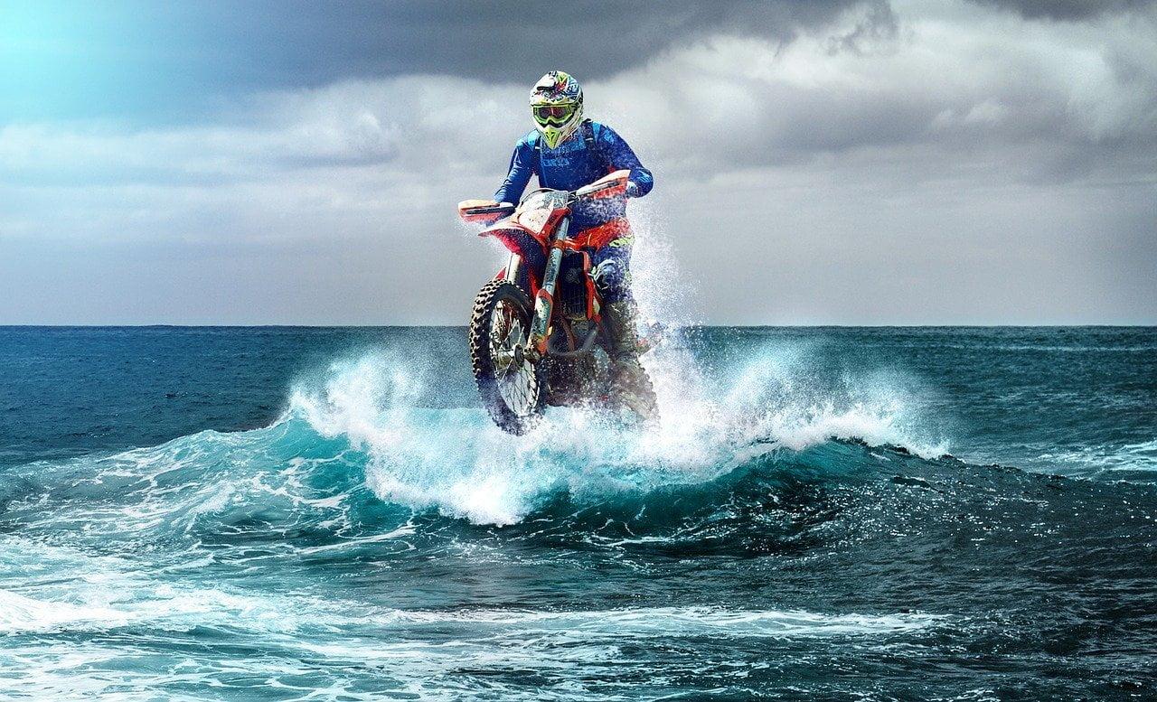 motocross, enduro, wave