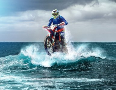 motocross, enduro, wave