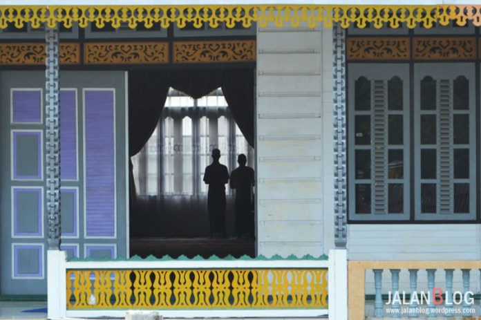 Saat Ashar di masjid Jami' Ba'alawi