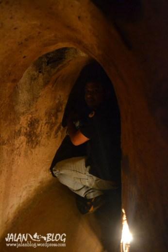Keadaan di dalam tunnel