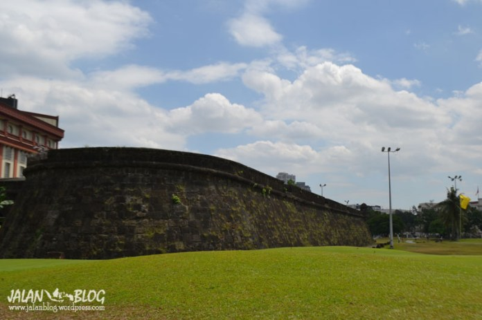 Intramuros, walled city...