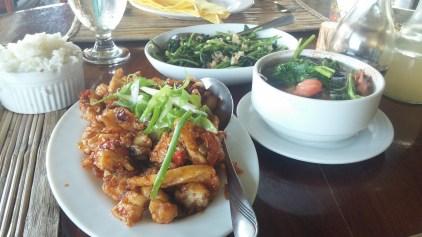 Makanan di Badjao Seafront