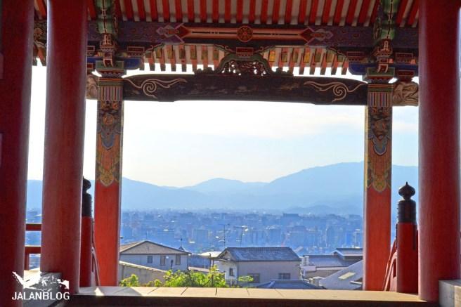 Pemandangan Kota Kyoto