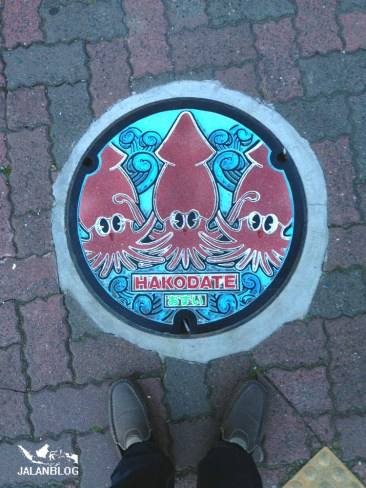Hakodate man hole