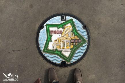 Manhole hakodate
