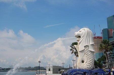 Merlion, the Icon Of Singapore (1/3)