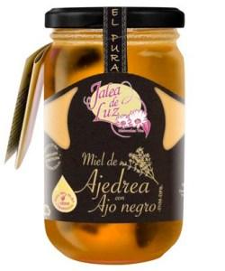 Miel de Ajedrea con Ajo negro 500 gr
